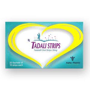 Tadali Oral Strips 20mg