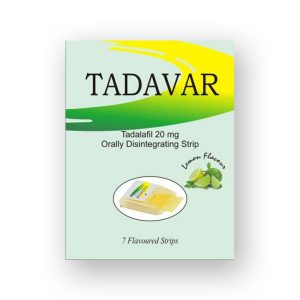 Tadavar Oral Strips 20mg